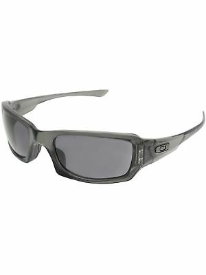 Oakley Women's Gradient Fives Squared OO9238-05 Black Rectangle Sunglasses