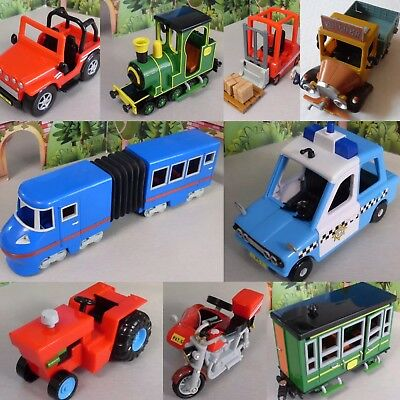 Postman Pat Selection Of Sds Vehicles = Ted Glen = Alf Thompson  Fork Lift Truck