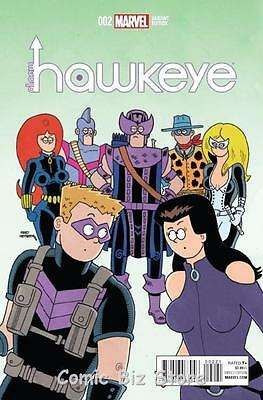 All New Hawkeye Vol 2 #2 (2015) 1St Printing Scarce 1:10 Hembeck Variant Cover