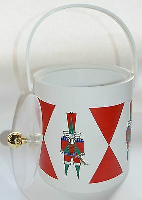 Vintage Ice Bucket Vinyl Insulated Made in USA