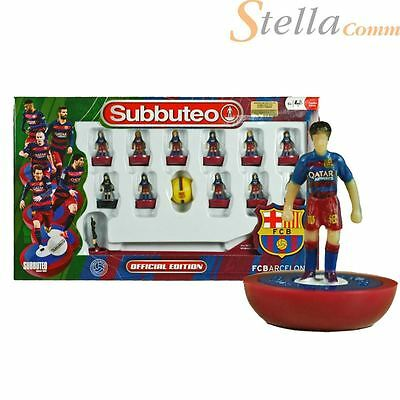 Subbuteo Official FC Barcelona Team Set Brand New Boxed Football Game Figures