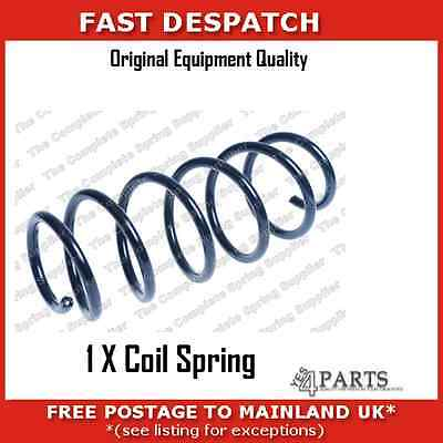66035 6198 1 X Rear Coil Spring For Volvo V70 1 6 Drive  With Self Levelled Susp
