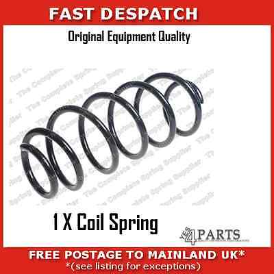 66035 6218 1 X Rear Coil Spring For Volvo V70 3 2  With Self Levelled Suspension