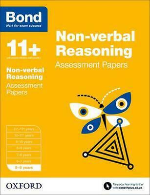 Bond 11+: Non-verbal Reasoning: Assessment Papers: 5-6 years by Alison Primrose