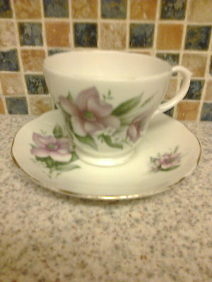 Duchess China Wood Anemone Design Cup & Saucer