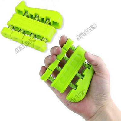 Finger Power Hand Exerciser Extend Grip Strength Training Guitar Zither new