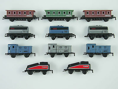 Collection of 11 Soma Trains Model Railway Wagons, Coaches & Tenders ©2000