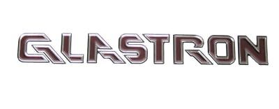 Glastron Boat Decal Sticker Red and Silver '05-06 SX