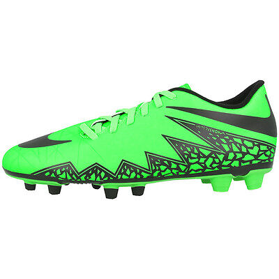 best value 3b68e 6e20e Nike Hypervenom Phade II Fg Chaussures de Football Vert Noir 749889-307