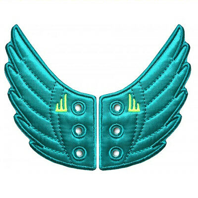 SHWINGS OCEAN NEON wings for your shoes official designer Shwings NEW 10211