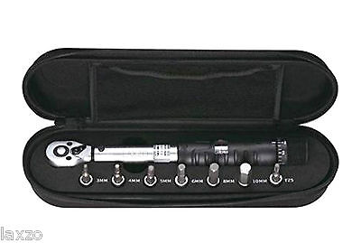 Mighty Torque Wrench Set Black  2-15 Nm with Alllen Set Bike Cycling Maintenance
