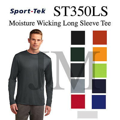 ST350LS Long Sleeve Competitor Tee Moisture Wicking Athletic PosiCharge Dri-fit