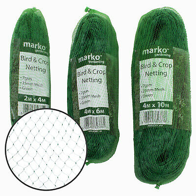 Garden Netting Anti Bird Pond Net Protection Veg Crops Plants Fruit Fine Meshing