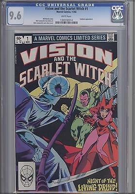 Vision and the Scarlet Witch #1  CGC 9.6 1982 Marvel Comic: Price Drop!