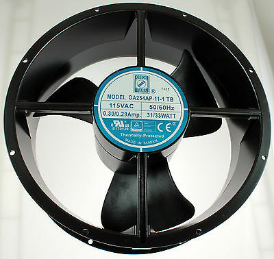 New Orion Fan 115VAC 10x3.5 3 Blades Rotron Caravel CLE2T2 115V AC 20189 031923