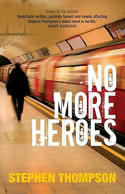 No More Heroes by Stephen Thompson Paperback Book Free Shipping!