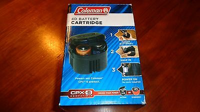 Coleman 4D Battery Cartridge Pack Fits Any Coleman CPX 6 Product Compatible