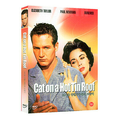 Cat On A Hot Tin Roof (1958) DVD - Elizabeth Taylor (*New *Sealed *All Region)