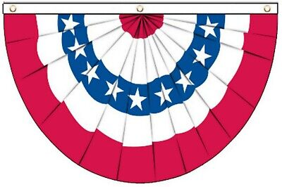 The United States Bunting Style Hanging 5'x3' Flag !