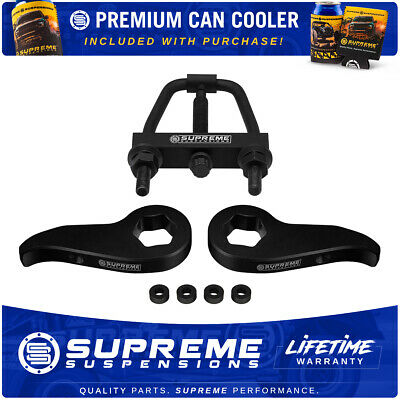 "2016-2019 Chevy Silverado 2500HD 3"" Inch Front Level Lift Kit + Tool PRO 4x2 4x4"
