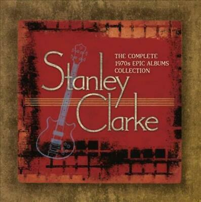 Stanley Clarke (Double Bass) - The Complete 1970S Epic Albums Collection Used -
