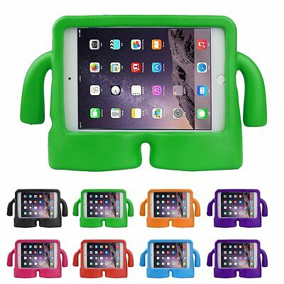 Shockproof Kids Safe Foam Handle Case Cover Stand For Apple iPad mini 1 2 3 4