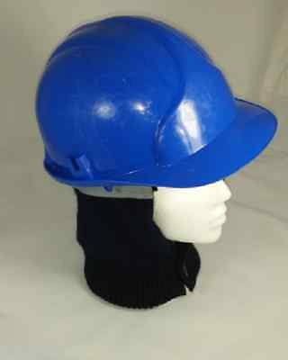 Hard Hat Liner Grey With Fleecy Lining and Removable Neck Warmer