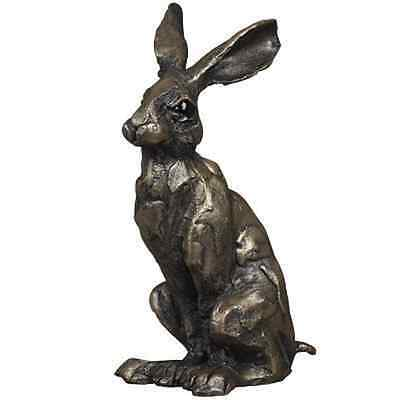 HUEY HARE Bronzed Wildlife Sculpture by Paul Jenkins
