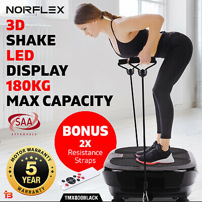 NORFLX Vibration Platform Body Shaper Exercise Machine Plate Fitness Massage A9