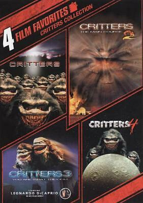 4 Film Favorites: Critters 1-4 Used - Very Good Dvd