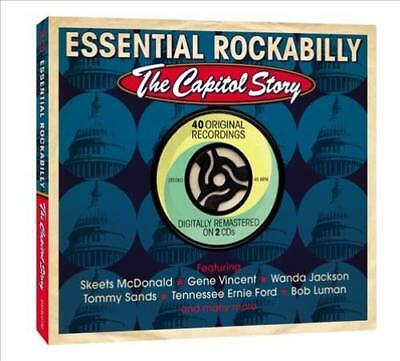 Various Artists - Essential Rockabilly: The Capitol Story Used - Very Good Cd