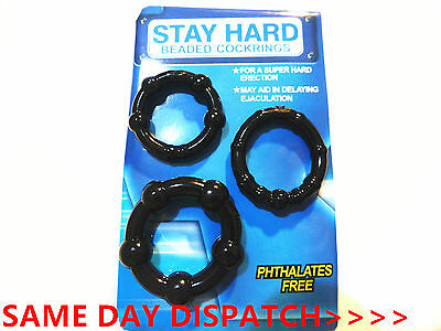 PENIS O RINGS Delay Aid To Help Prevent Premature Ejaculation Erection Impotence