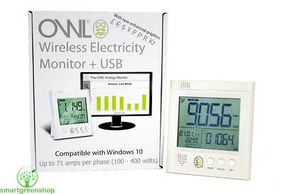 OWL +USB CM160 Wireless Home Electric Energy Monitor Electricity Smart Meter