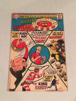 House of Mystery #160 1st app Plastic Man silver age 1960's DC Comics GD