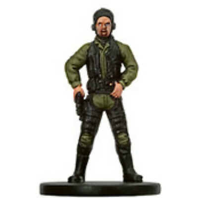 Dark Hellion Swoop Gang Member - Star Wars Bounty Hunters Miniature