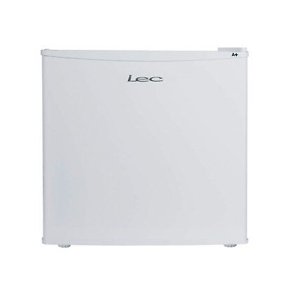 LEC R50052W White Compact Small Freestanding Fridge With Ice Box