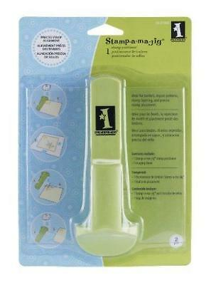 Inkadinkado Stamp-a-ma-jig Stamp Positoner alignment for rubber stamps