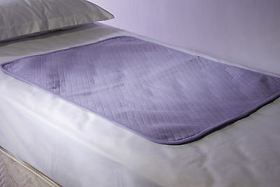Washable Inconvenience Waterproofed Bed Pad Protectors 71*90Cm All Edges Covered
