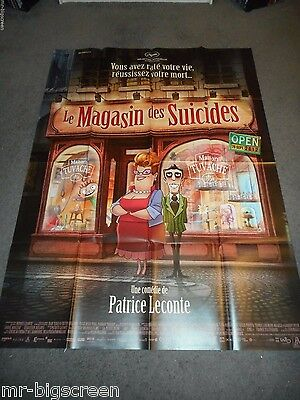 The Suicide Shop - Original Huge French Poster - 2012 - Patrice Leconte