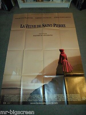 The Widow Of St. Pierre - Original Huge French Poster - 2000 - Patrice Leconte