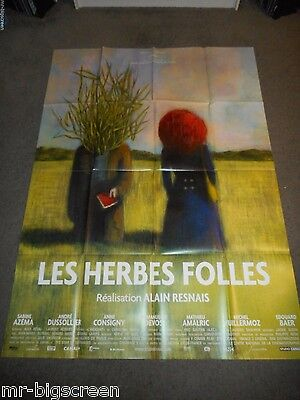 Wild Grass - Original Huge French Poster - 2009 - Alain Resnais