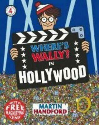 Where's Wally? In Hollywood by Martin Handford (English) Paperback Book Free Shi