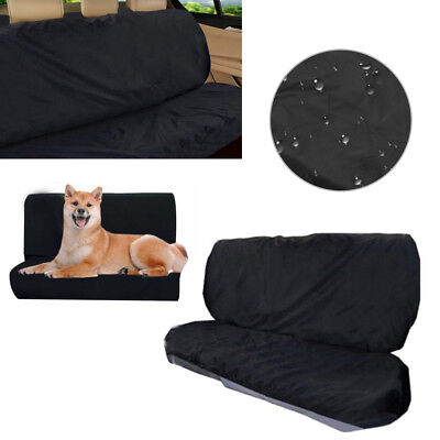 Water Resistant Car Rear Back Seat Cover Pet Heavy Duty Protector Universal Fit