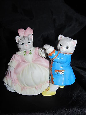 Kitty Cucumber Beautiful Cinderella & Handsome Prince Ball Dancing Schmid 1990