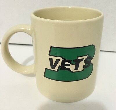 Vintage Burlington Northern Santa Fe BNSF Railway Veterans Assoc. Coffee Mug Cup