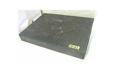 "18"" x 24"" x 3"" Granite Surface Plate Inspection Black"