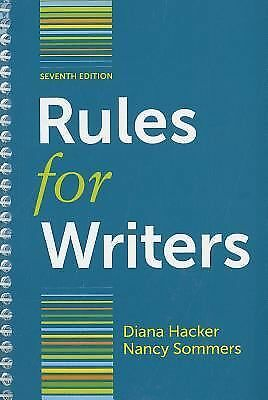Rules for Writers with Writing about Literature (Tabbed Version) by Diana...