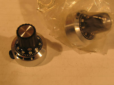 One SAKAE Variable Resistor or Rheostat Zero Adjust Dial/Knob (0-1000) #MB-25B