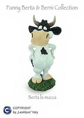 MUCCA BERTA LES-ALPES FUNNY WORLD COLLECT.MUCCA MAXI IN RESINA 014 81520 - Cow