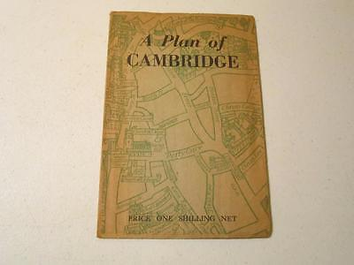 A Plan of Cambridge - 3rd Edition Heffer & Sons ~ 1946